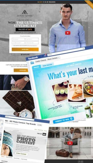 landing-pages marketing campaigns